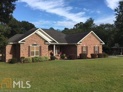 Statesboro GA Single Family Home For Sale: $208,000