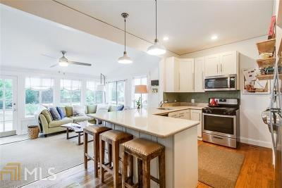 Decatur Single Family Home Under Contract: 462 Ansley