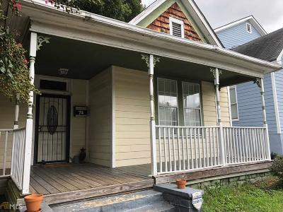 Old Fourth Ward Single Family Home For Sale: 74 Lucy
