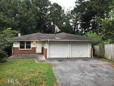 Marietta Single Family Home Under Contract: 2894 Lakemont Pl