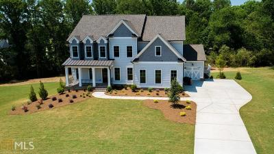 Cumming Single Family Home For Sale: 5525 Franklin Goldmine Rd