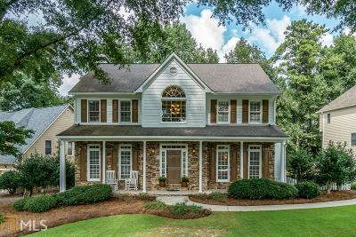 Johns Creek Single Family Home Under Contract: 11050 Amberton Xing