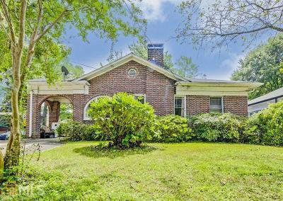Ormewood Park Single Family Home For Sale: 903 E Confederate Ave