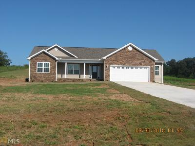 Elbert County, Franklin County, Hart County Single Family Home For Sale: 337 Middle Fork Ln