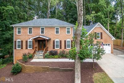 Marietta Single Family Home For Sale: 1540 Heath Ln