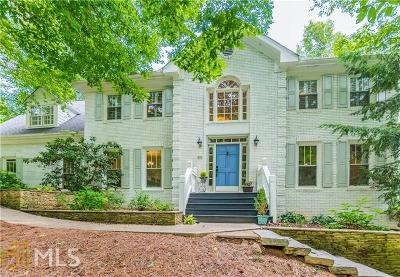 Alpharetta Single Family Home For Sale: 970 Steeplechase Rd #A