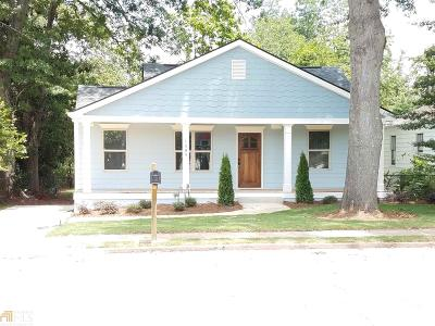 College Park Single Family Home For Sale: 1589 Walker Ave