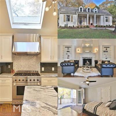 Collier Hills Single Family Home For Sale: 563 Collier Rd