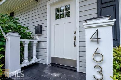 Grant Park Single Family Home Under Contract: 463 Hill St