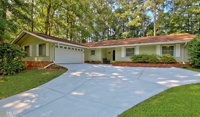 Peachtree City Single Family Home For Sale: 1120 Hip Pocket