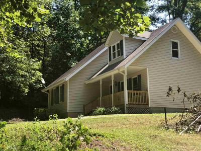 Clarkesville Single Family Home Under Contract: 392 Colonels