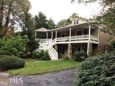 Clarkesville Single Family Home For Sale: 118 Habersham Pl