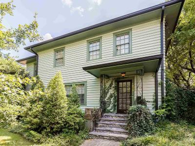 Virginia Highland Multi Family Home Under Contract: 1073 St Louis Pl