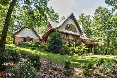 Bartow County, Cherokee County, Coweta County, Dawson County, Fannin County, Fayette County, Forsyth County, Gilmer County, Hall County, Newton County, Paulding County, Rockdale County, Walton County Single Family Home For Sale: 2155 Purcell Ln