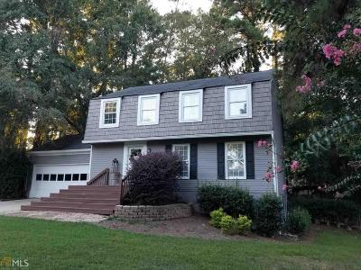 Peachtree City Single Family Home Under Contract: 108 Butternut Ln