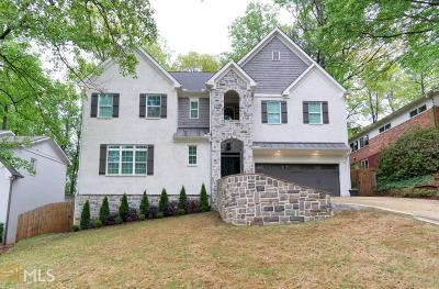 Brookhaven Single Family Home Under Contract: 2658 Cove Cir