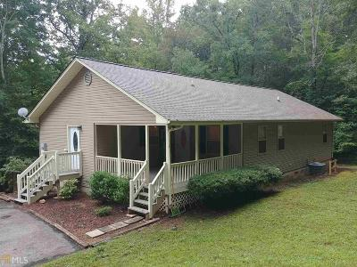 Blairsville Single Family Home Under Contract: 56 Billy J Rd