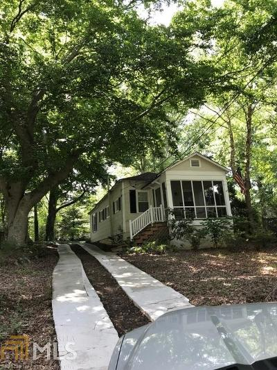 Scottdale Single Family Home Under Contract: 900 McLendon Dr