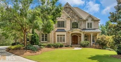 Roswell Single Family Home For Sale: 220 Sherwood Pass