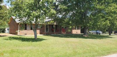 Hartwell Single Family Home For Sale: 107 Old Mt Hebron Rd