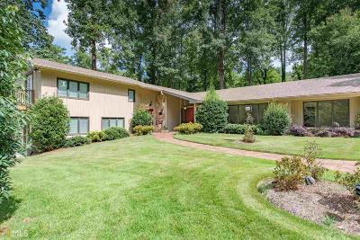 Marietta Single Family Home Back On Market: 398 Indian Hills
