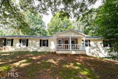 Douglasville Single Family Home Under Contract: 8120 Bouldercrest Pl