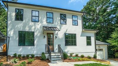 Smyrna Single Family Home For Sale: 2821 Fraser St