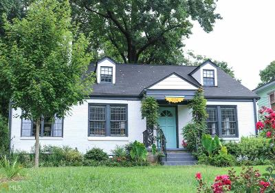 Grant Park Single Family Home Under Contract: 924 Park Ave