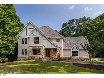 Milton Single Family Home For Sale: 165 Highland Oaks Ct