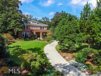 Druid Hills Single Family Home For Sale: 1000 Springdale Rd