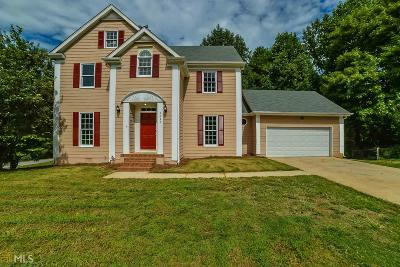 Snellville Single Family Home Under Contract: 3635 Starboard Ln