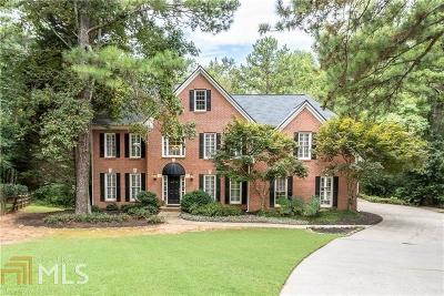 Alpharetta Single Family Home Under Contract: 150 Mirrowood Ln