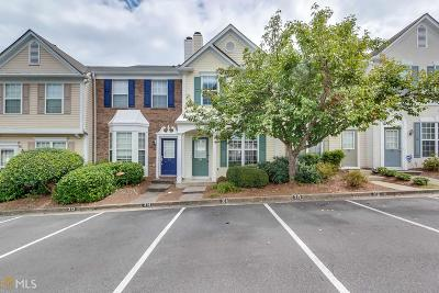 Alpharetta Condo/Townhouse Under Contract: 314 Devonshire Dr
