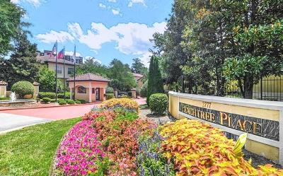 Peachtree Place Condo/Townhouse For Sale: 3777 Peachtree Rd #426