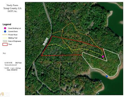 Lagrange Residential Lots & Land For Sale: Neely Rd