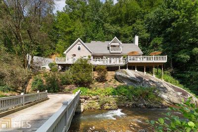 Rabun County Single Family Home For Sale: 1189 Garrett Branch Rd