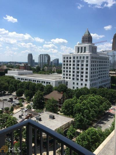 Metropolis Condo/Townhouse For Sale: 943 Peachtree St #1109