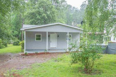 Monticello GA Single Family Home For Sale: $193,999