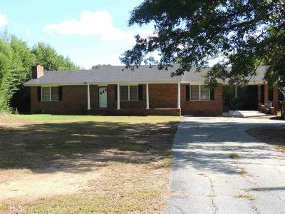 Elberton GA Single Family Home For Sale: $79,500