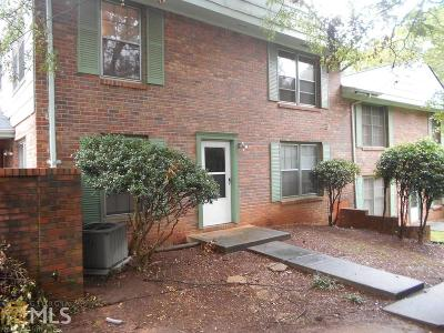 Clayton County Condo/Townhouse For Sale: 79 Flint River Rd #15B