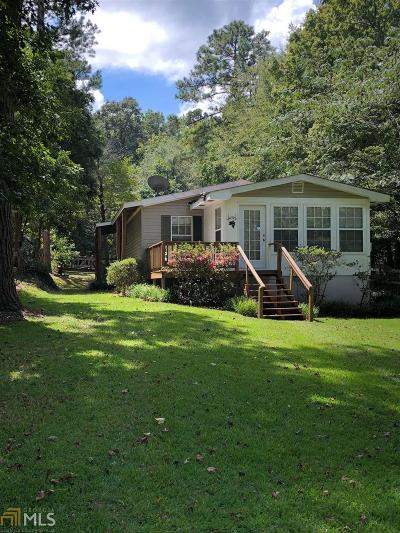 Greensboro, Eatonton Single Family Home Under Contract: 105 NW Riverview Dr #21