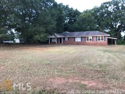 Social Circle Single Family Home Under Contract: 1520 N Cherokee Rd