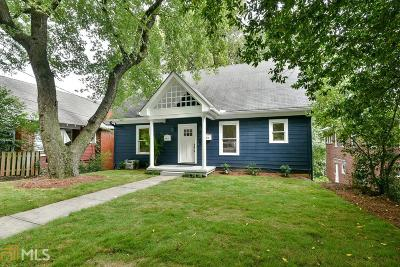 Virginia Highland Single Family Home For Sale: 946 Greenwood Ave