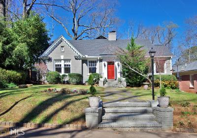 Single Family Home For Sale: 1330 Emory Rd