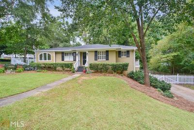 Historic Marietta Single Family Home Under Contract: 255 Forest Ave