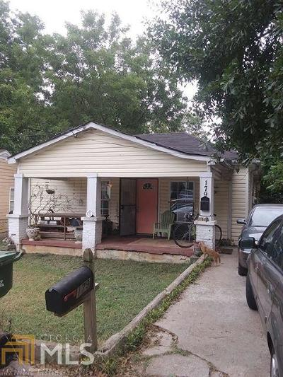 Peoplestown Single Family Home For Sale: 179 Haygood Ave