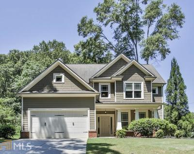 Clarkston Single Family Home Under Contract: 3821 Market St