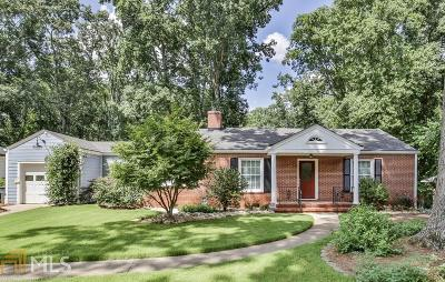 Decatur Single Family Home Under Contract: 245 W Parkwood Rd