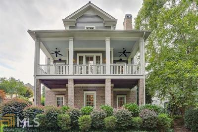 Cumming Single Family Home For Sale: 6705 Pond Rd