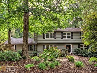 Marietta Single Family Home For Sale: 2733 Eagle Ridge Rd